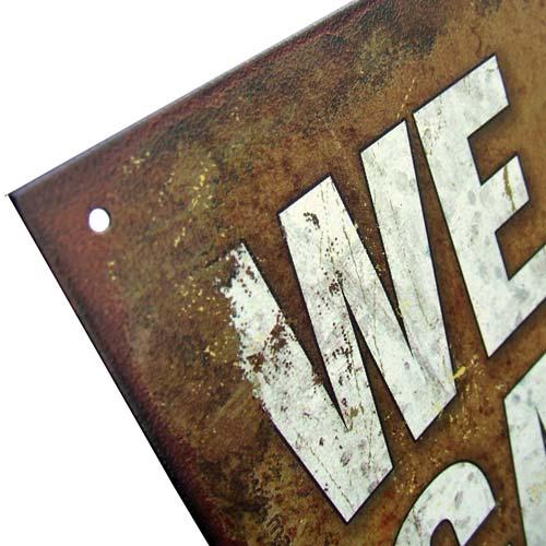 911 Metal Signs – Jerusalem House