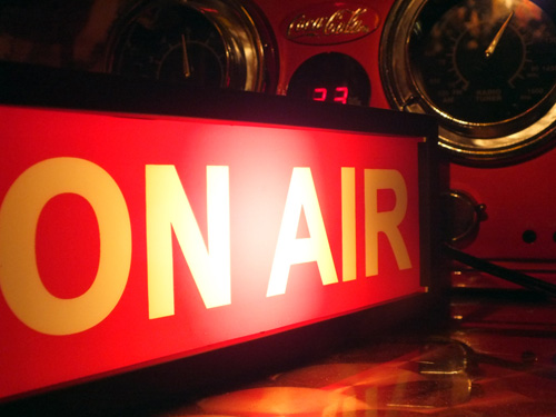 On Air Sign by Shawn Hickman on Dribbble