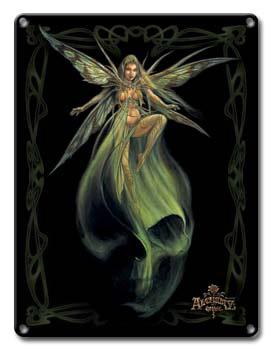 アルケミーゴシック・メタルサインプレート Absinthe Fairy